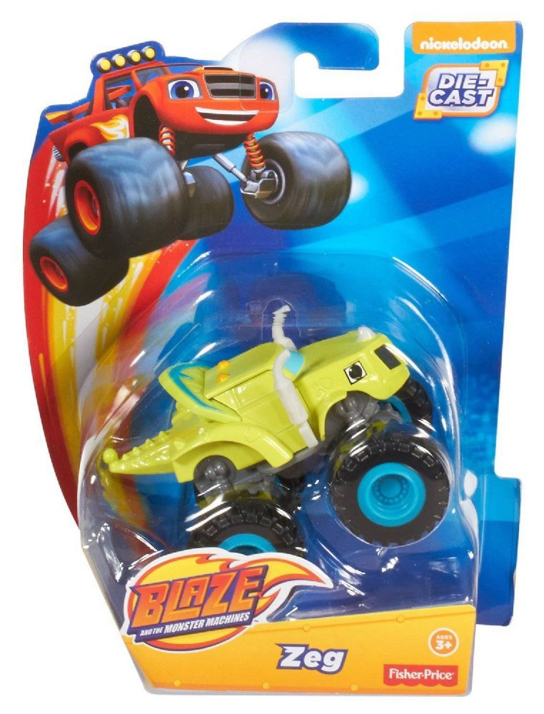Blaze and the Monster Machines  DieCast Vehicle  Zeg